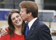 John Edwards' Daughter Assumes The 'Supportive Wife' Role