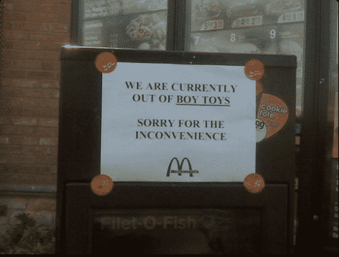 McDonalds: Giving A 'Girl Toy' To Your Boy Is An 'Inconvenience'