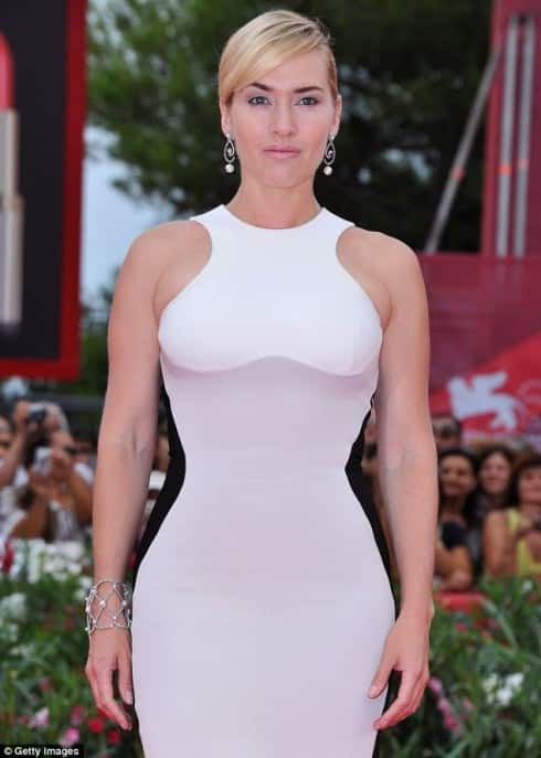 Kate Winslet Breaking The Unsexy Mother Stereotype One Dress At A Time