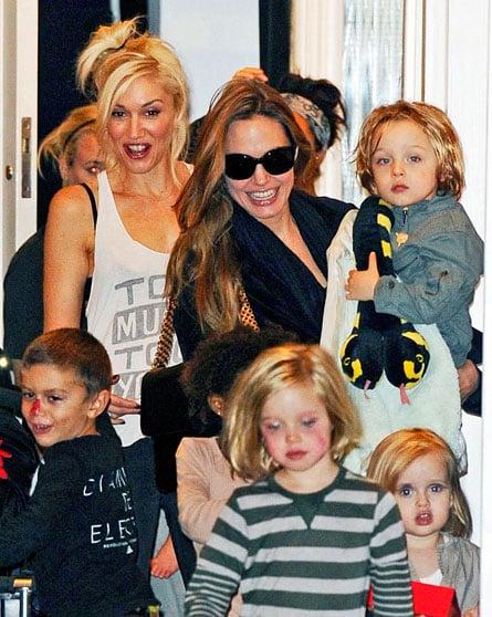 Top Five Celebrity Playdates: Angelina Jolie, Gwen Stefani, Elton John And More