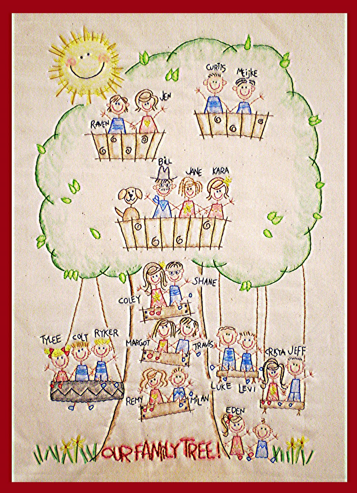 30  Great Creative Family Trees For for Creative Family Trees For Kids  131fsj