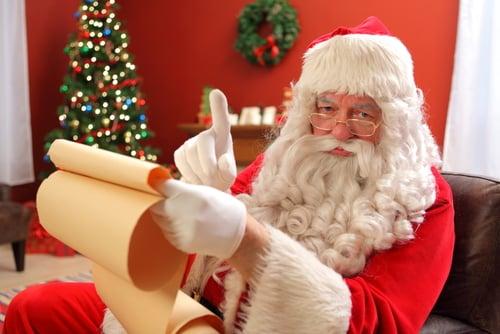naughty or nice dont use santa to discipline your kids mommyish - Santa And Kids