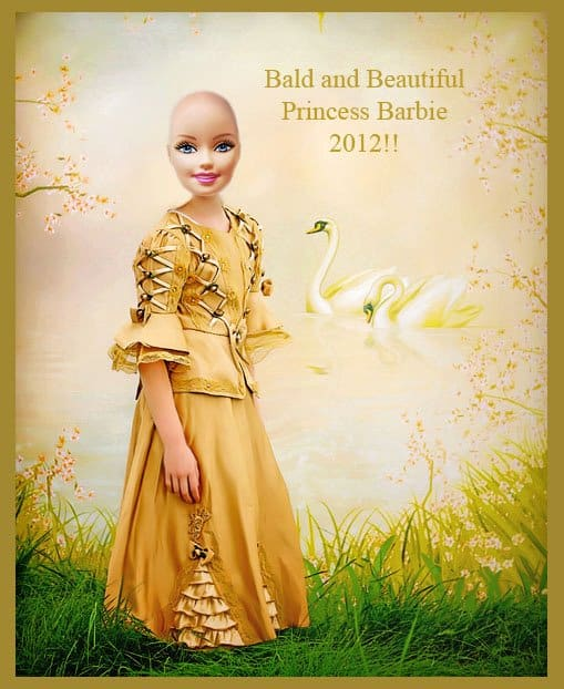 Bald and Beautiful Barbie