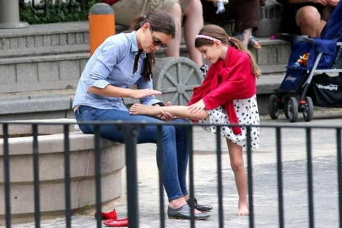 The Top 5 Cutest Katie Holmes And Suri Cruise Mommy-Daughter Outings