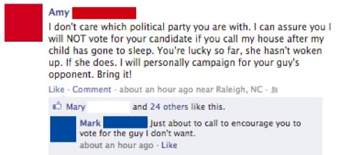 STFU Parents: 5 Parents Who Are Talking 2012 Election Time On Facebook
