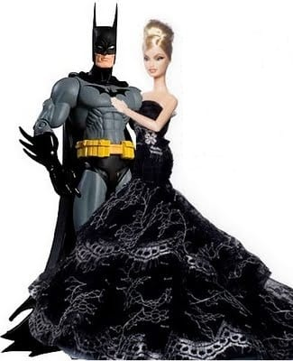 batman and barbie