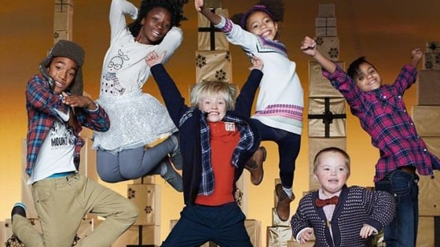 child model with down syndrome