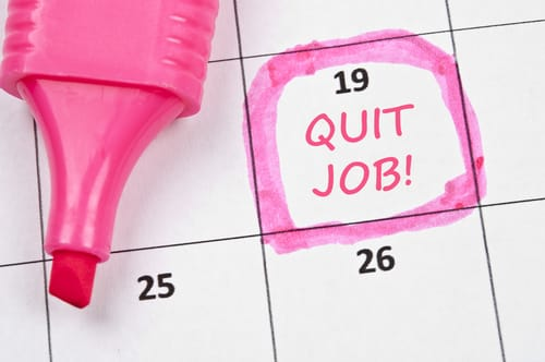 quitting job