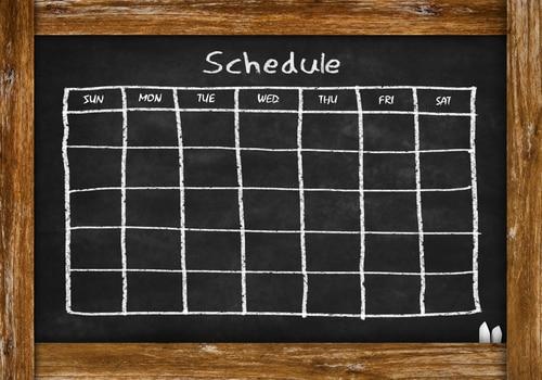 kid schedule
