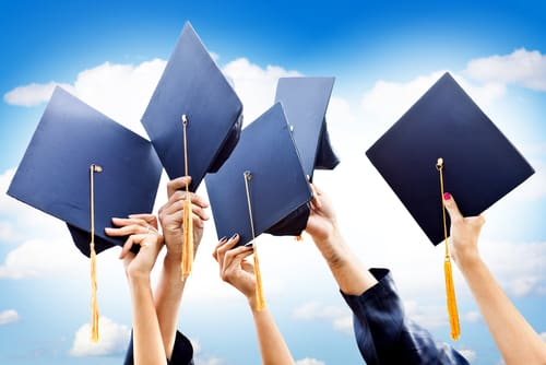 high school graduation rate