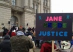 Occupy Steubenville Rally Marked By Snow, Ice And Support For Rape Victims - Live Feed Now