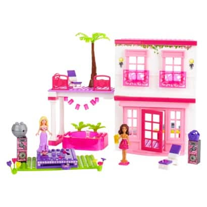 barbie dream house lego