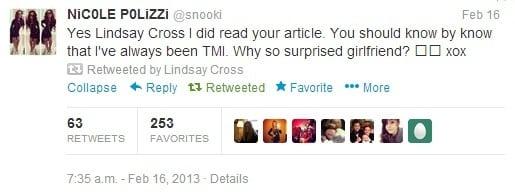 Snooki Tweet