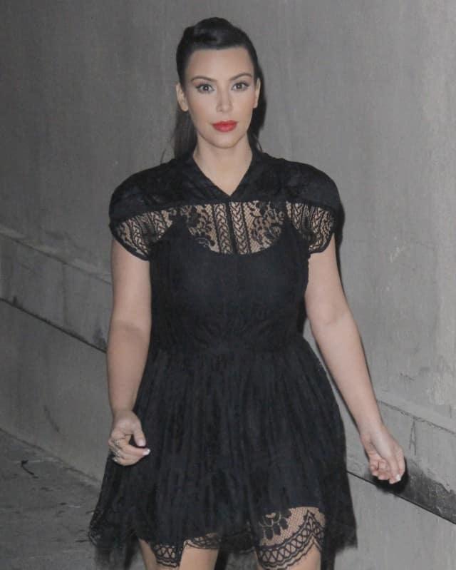 Kim Kardashian weight gain