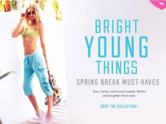 victoria's secret bright young things