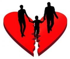 divorce effects on kids