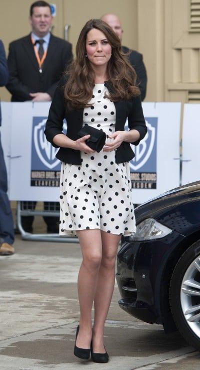 Kate Middleton Style Dresses Top Shop Polka Dot Dress