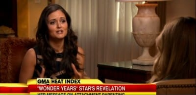 danica mckellar breastfeeding GMA