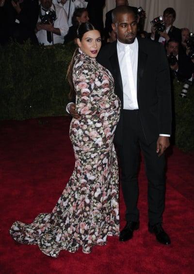 kim kardashian met gala pregnant