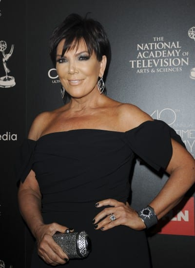 Kris Jenner The 40th Annual Daytime Emmy Awards held at The Beverly Hilton Hotel - Arrivals