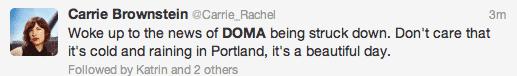 DOMA tweet