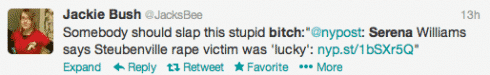 The Top Worst Tweets In Response To Serena Williams's Steubenville Victim Blaming