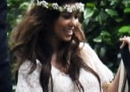 Kim Kardashian Had Her Magical Babypalooza Shower Extravaganza Where People Dressed in Tablecloths