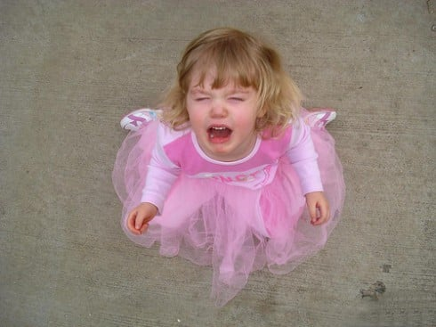 Baby Blues: I Am So Not Equipped To Handle My Daughter's Tantrums