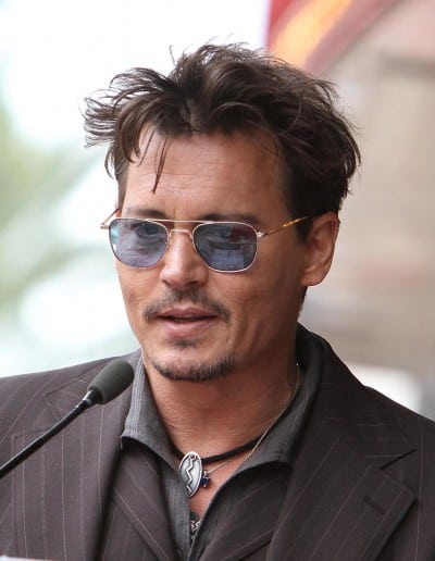 Johnny Depp Jerry Bruckheimer Honored On The Hollywood Walk Of Fame