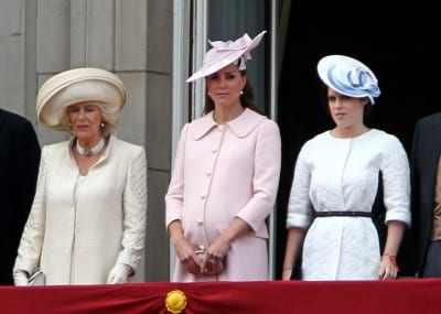 Kate Middleton The Queen's Birthday Parade - Buckingham Palace