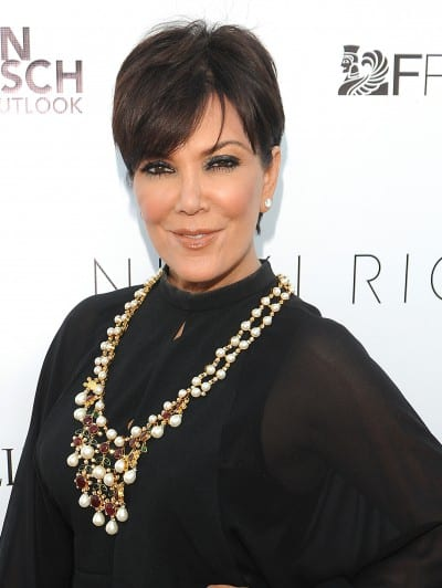 Kris Jenner Genlux Summer Issue Release Party