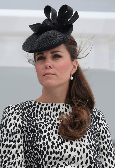 kate middleton  attends a Princess Cruises ship naming ceremony at Ocean Terminal