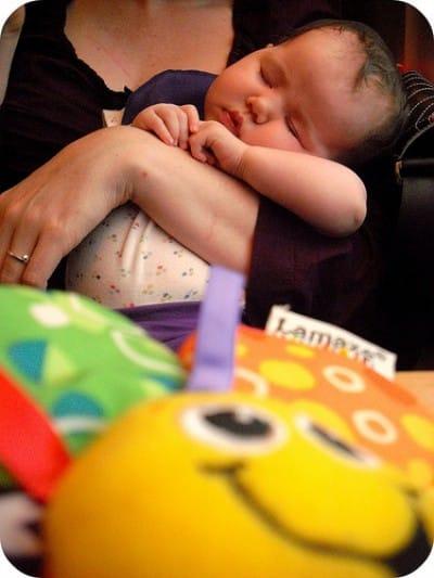 sleepy baby is sleepy