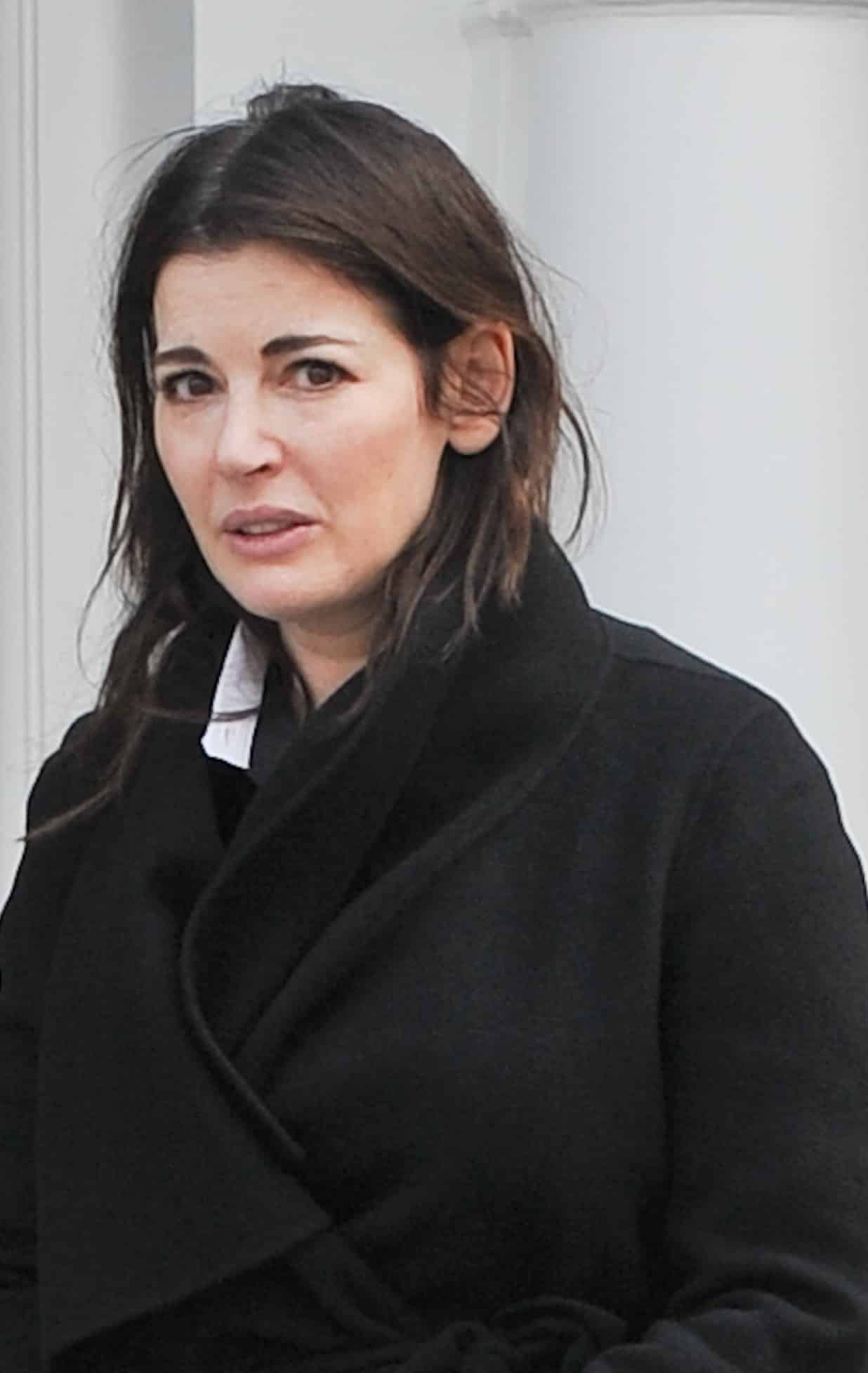 Nigella Lawson seen at the family home