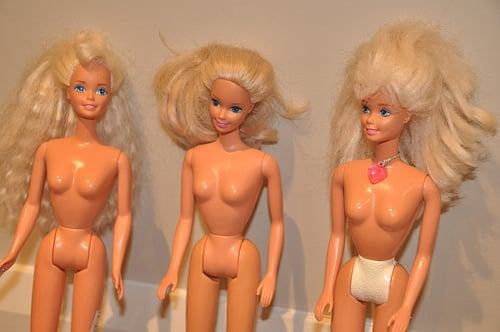 white barbies