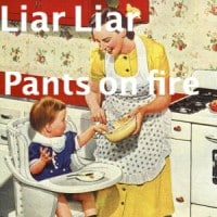 lies moms say
