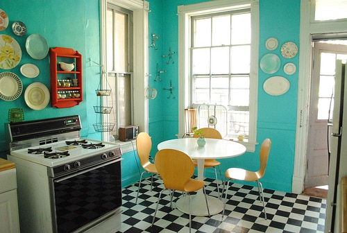 Retro Kitchens 20 retro kitchens that i need in my house - mommyish