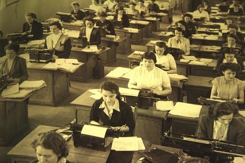 1950s secretaries