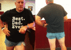'Best Dad Ever' Explains Why He Wore Short Shorts To Teach His Daughter A Lesson In 'Modesty'