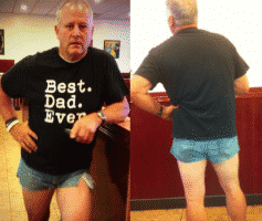 Dad Wears Short Shorts To Teach Daughter About Modesty