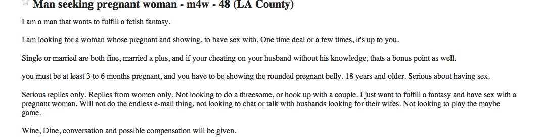 Craigslist for girl looking man new hampshire