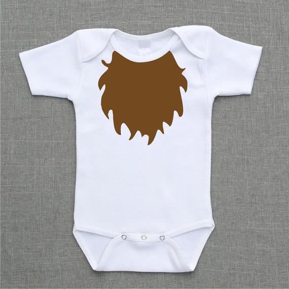 beard onesie