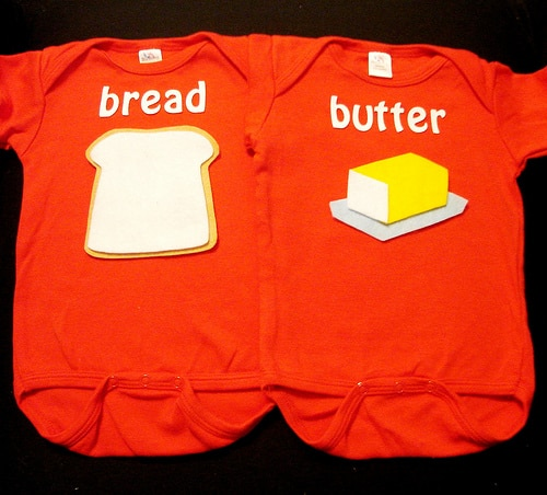 bread and butter onesie
