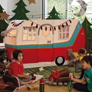 On occasion I will be trolling the internet and seeing all that is new on websites and sometimes I will do a little shopping as moms are apt to do.  sc 1 st  Mommyish & This Land Of Nod Camper Play Tent Is Giving Me Parenting Angst