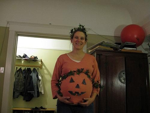 pregnant pumpkin