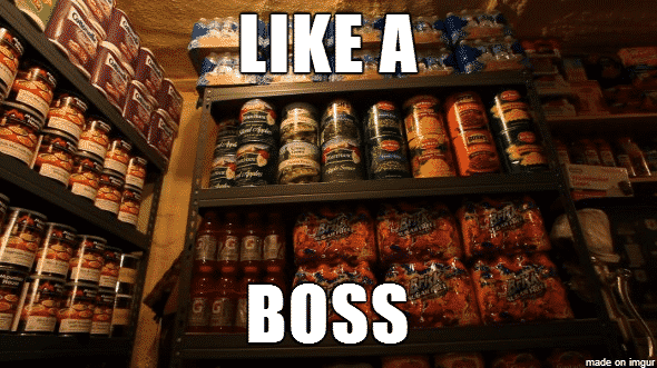 prepping like a boss