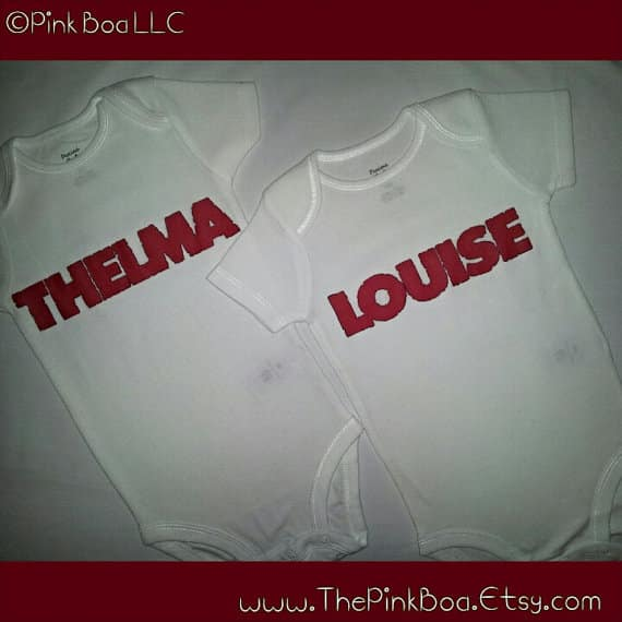 thelma and louise onesies
