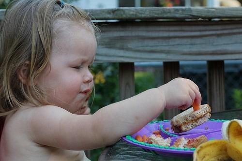 toddler sandwich
