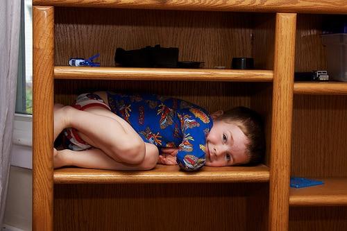 toddler shelf