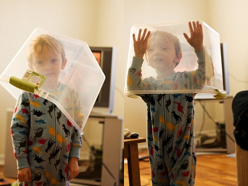 toddlers plastic box